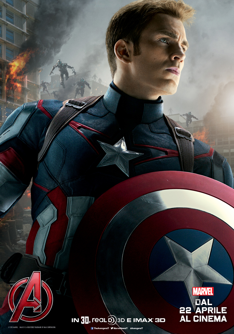 Avengers: Age of Ultron - Captain America