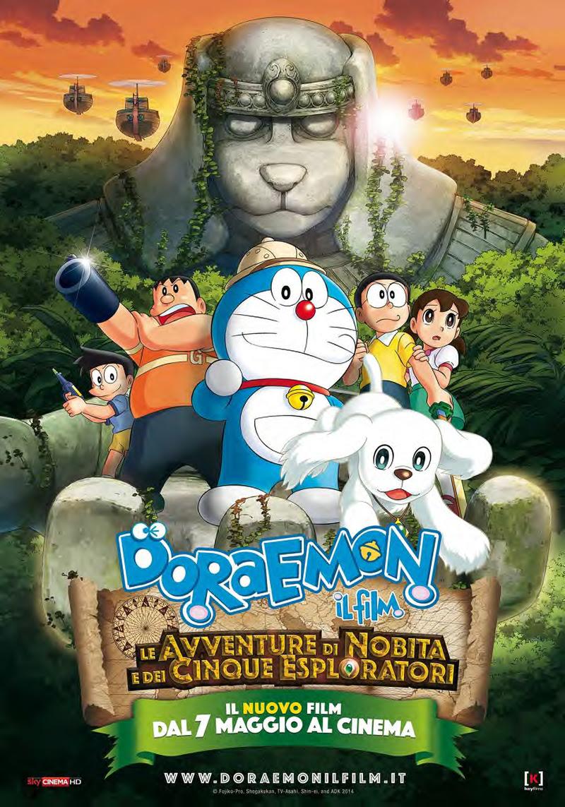 Doraemon Il Film - Le Avventure di Nobita e dei Cinque Esploratori poster italia