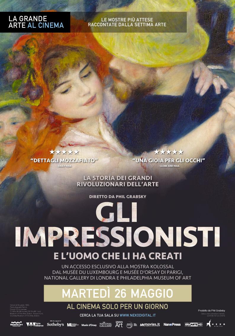 Gli Impressionisti - poster