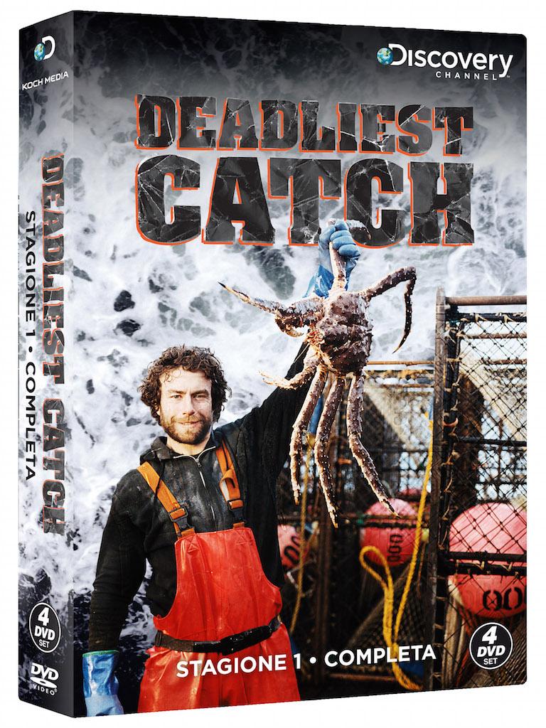 DEADLIEST CATCH - DVD pack