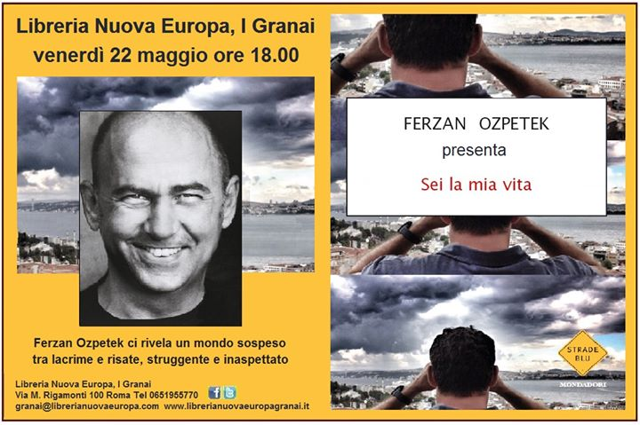 Ferzan Ozpetek presenta alla Libreria Nuova Europa
