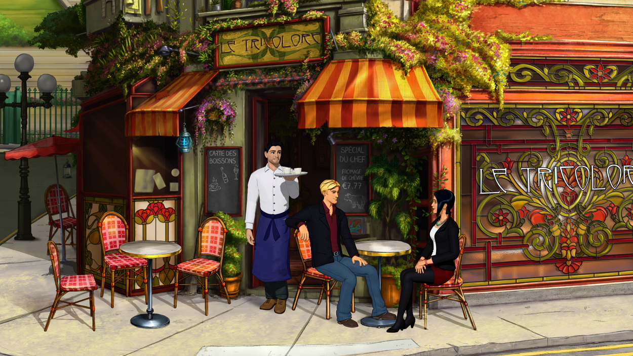 Broken Sword 5 - the Serpent's Curse - Serving Coffee
