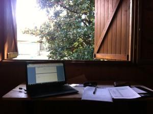 Il mio nuovo ufficio