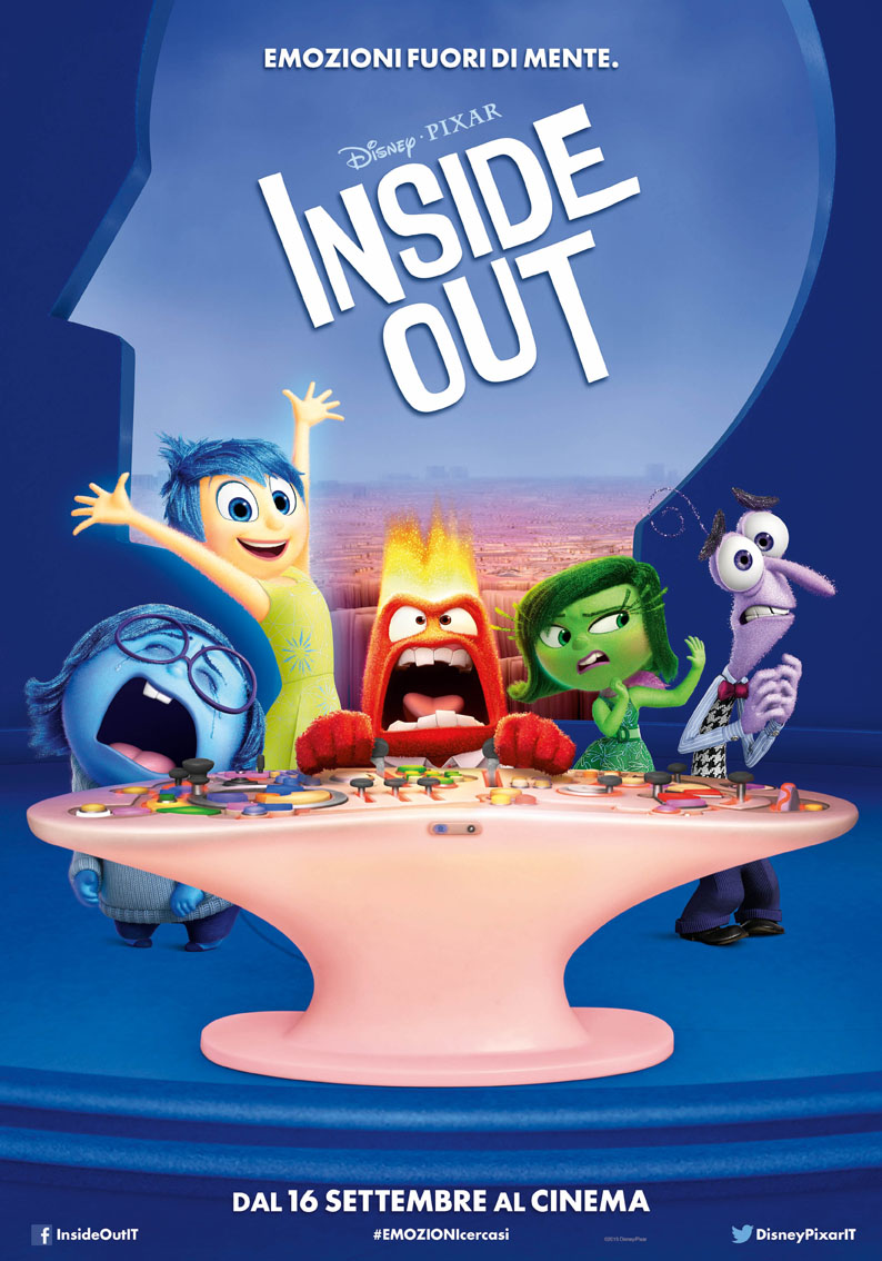 Inside out - poster italiano