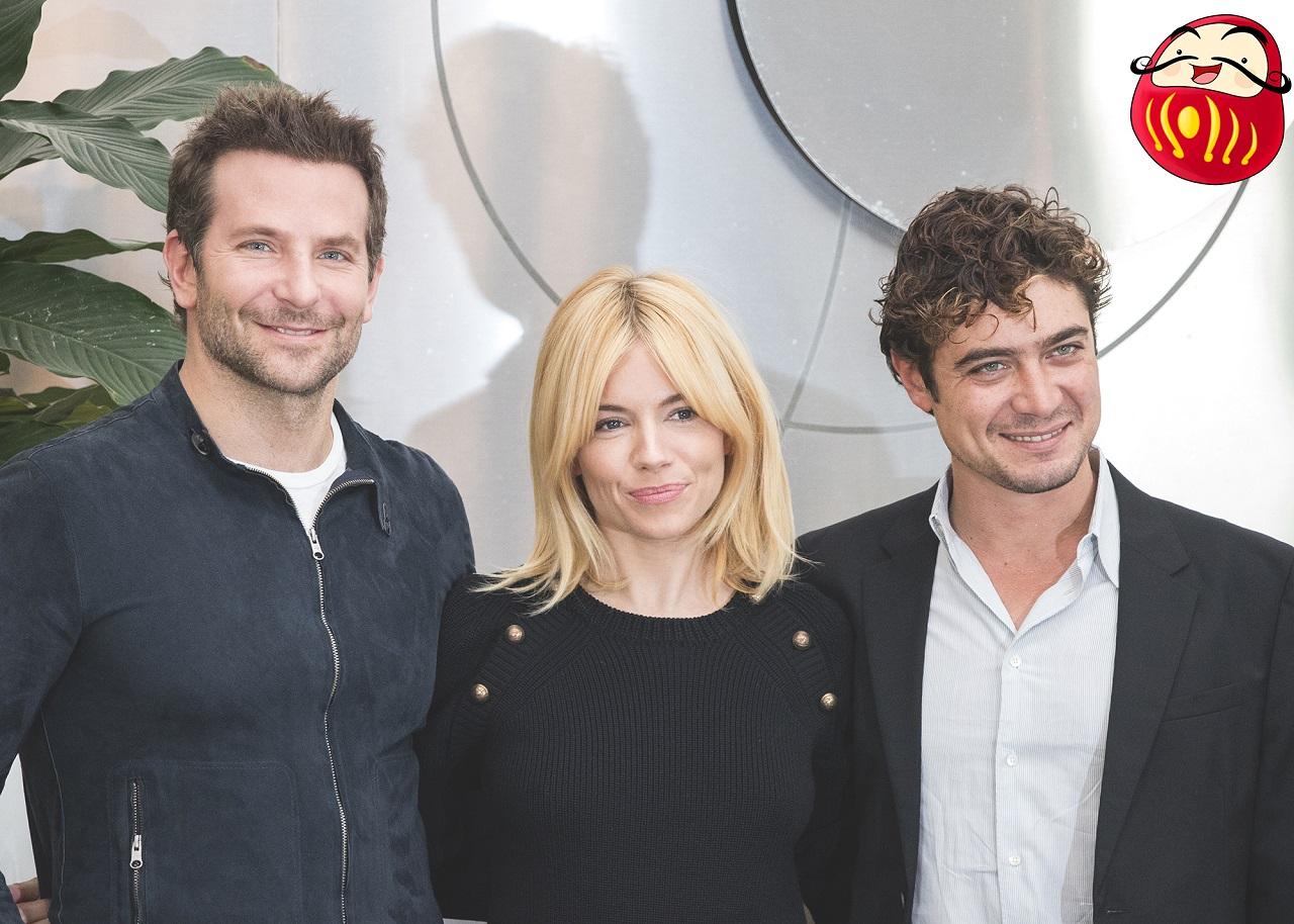 """""""Il Sapore del Successo"""" con Bradley Cooper,Sienna Miller e Riccardo Scamarcio 1015"""