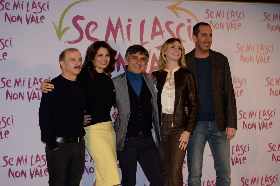 Photo Call di Se Mi lasci non Vale