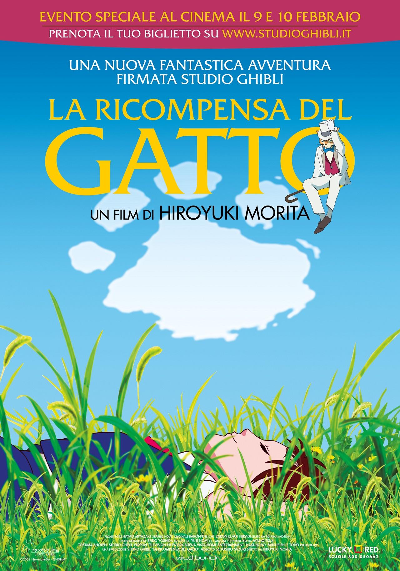 LA RICOMPENSA DEL GATTO - poster