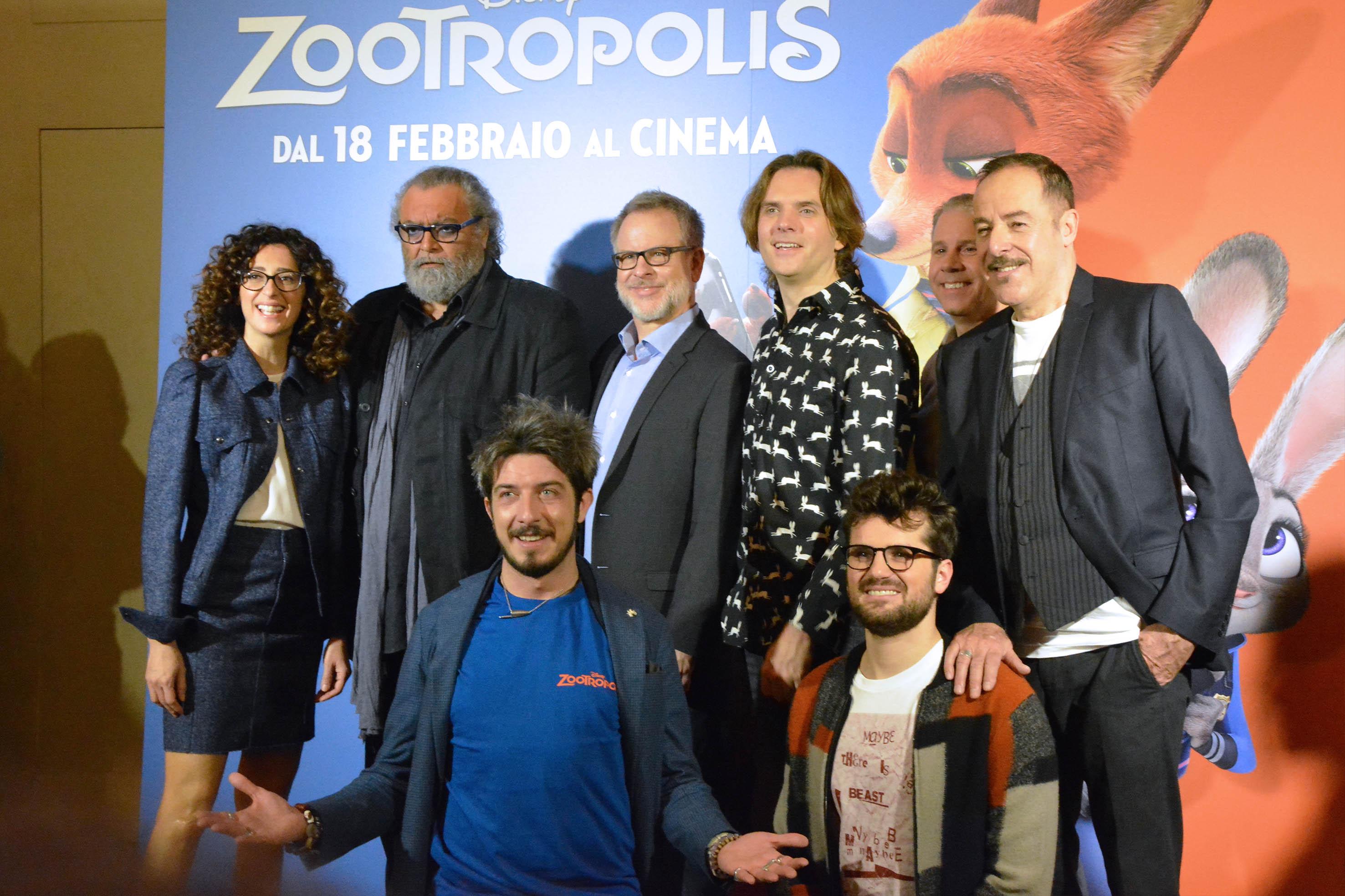 Photo Call di Zootropolis
