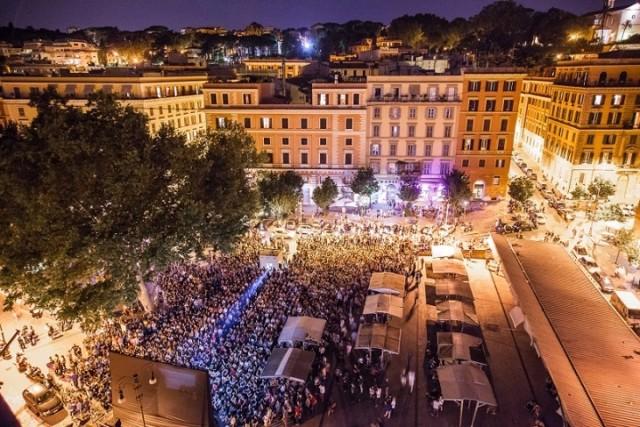 Festival di Trastevere_Piazza San Cosimato
