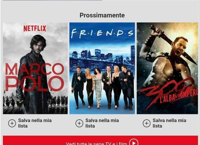 Friends-su-netfix-italia