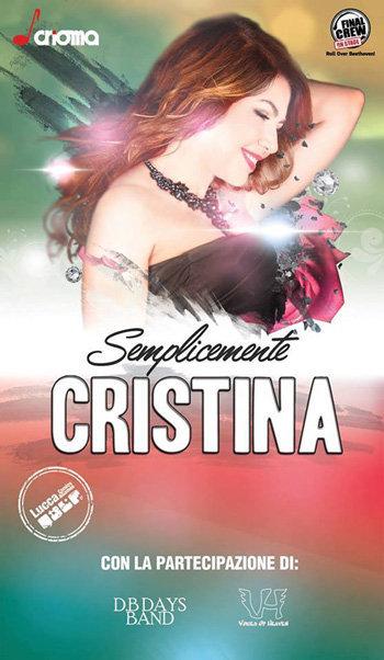 Semplicemente-Cristina-Atlantico-Live-locandina