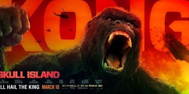 Kong: Skull Island agli Univision Days – Roma, Isola Del Cinema 28 Luglio Ore 21:30