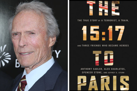 The 15:17 to Paris, il prossimo film di Clint Eastwood