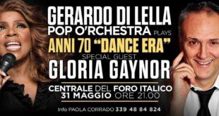 Gerardo Di Lella Pop O'rchestra e Gloria Gaynor_Anni 70_Dance Era