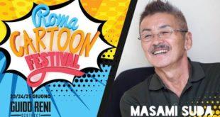 Masami Suda al Roma Cartoon Festival ancora alcuni posti liberi per domenica 26!