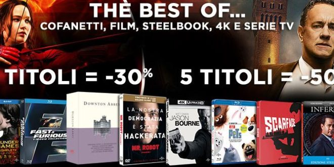 Universal Pictures – Promo Shock su Amazon.it DVD e Blu-Ray fino al 50% di Sconto