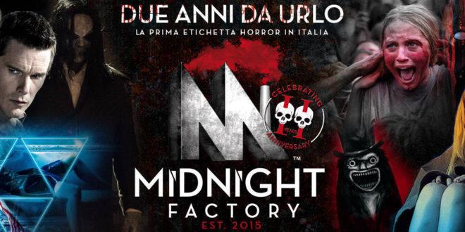 Buon Compleanno Midnight Factory – Due anni di sangue e terrore cinematografico