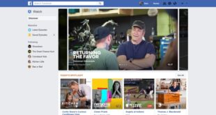 FACEBOOK WATCH – Una nuova piattaforma per gli show su Facebook