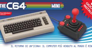 TheC64 Mini – Il nuovo aggiornamento permette di aggiungere nuovi giochi