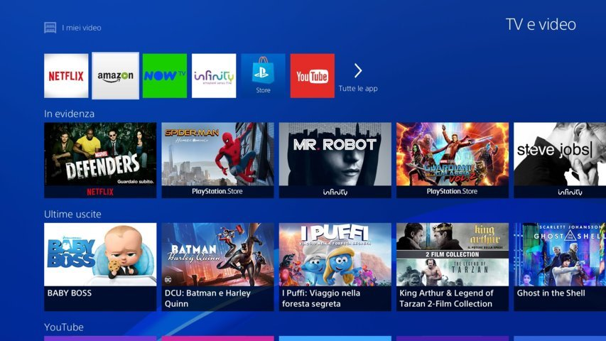 prime-video-app-ps4-ps3 - Home - App Icon Row