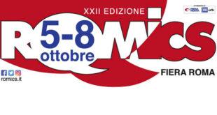 Romics 2017: Arriva dal 5 all'8 Ottobre l'edizione autunnale della fiera del fumetto Capitolina – Il programma della XXII edizione