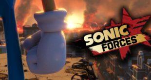 Sonic Forces-Fumetto-copertina