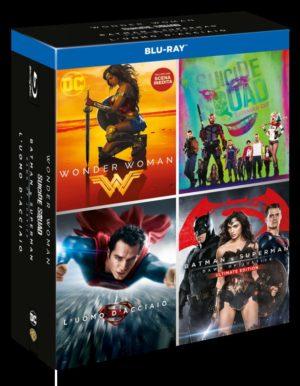 DC Boxset - BD 4 Movies