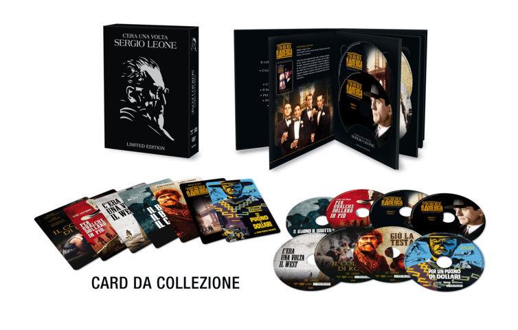 Leone cofanetto DVD interno+card+dischi