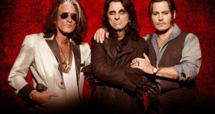 ROCK IN ROMA 2018 –  Annunciate le prime date: HOLLYWOOD VAMPIRES sul palco di Capanelle Alice Cooper, Johnny Depp e Joe Perry