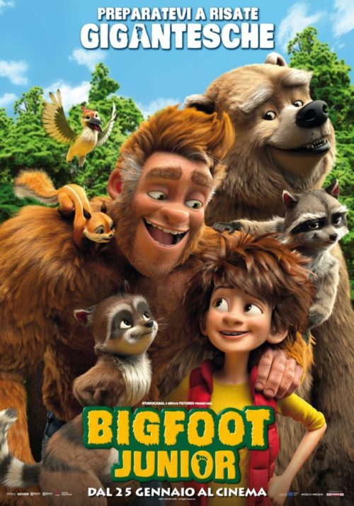 Bigfoot-junior-poster-italiano