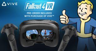 Fallout VR su HTC VIVE da oggi disponibile