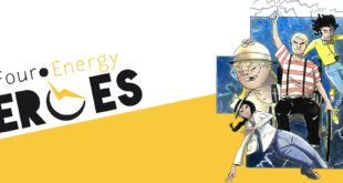 four-energy-heroes-fumetto-disabili-copertina