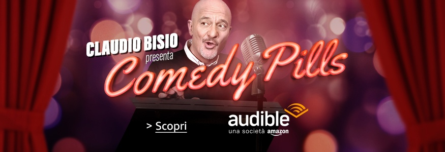 claudio-bisio-audible-comedy-pills-cover