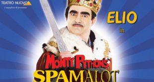 Elio al Teatro Brancaccio con Spamalot dal 13 al 18 Febbraio