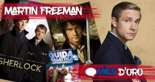 Martin Freeman verrà premiato con il Romics d'Oro il prossimo aprile