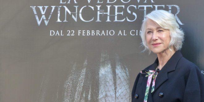"""Helen Mirren a Roma: """"La vedova Winchester è un film di fantasmi che indaga sulla natura umana"""""""