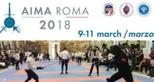 AIMA 2018, da domani il via all'evento romano internazionale dedicato alla scherma storica