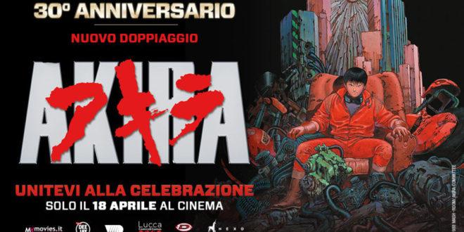 AKIRA il capolavoro di Otomo torna al cinema con il nuovo doppiaggio italiano