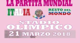 La Partita Mundial – Italia vs Resto del Mondo: Uniti contro la violenza sulle donne