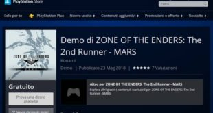 Zone Of The Enders: The 2nd Runner – M∀Rs – Demo disponibile su PS Store per PS4 e PlayStation VR