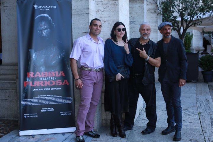 Cast Rabbia Furiosa photocall (foto Emanuele Tetto)
