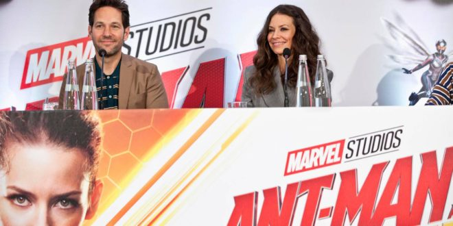Ant-Man and The Wasp – Paul Rudd ed Evangeline Lilly a Roma