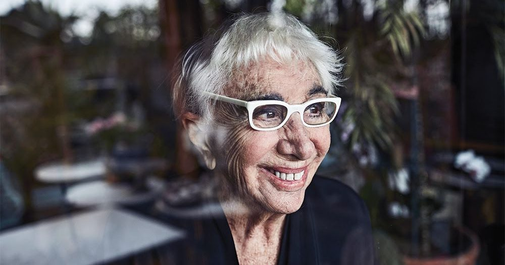 Lina Wertmuller photographed by Mattia Zoppellaro at her home in Rome on February 14, 2018 for Variety.