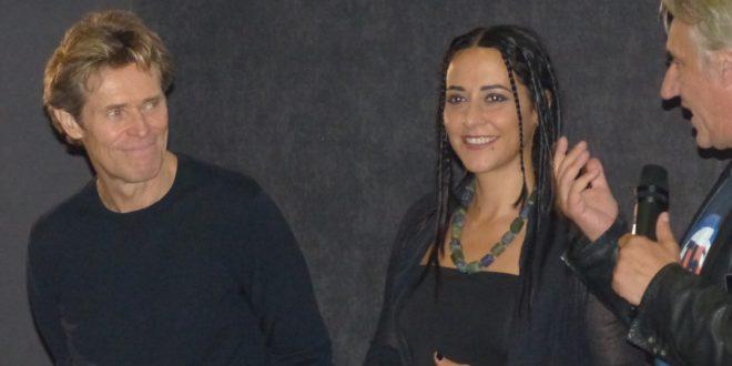 Padre – Willem Dafoe e Giada Colagranda alla serata di presentazione al Nuovo Cinema Aquila di Roma