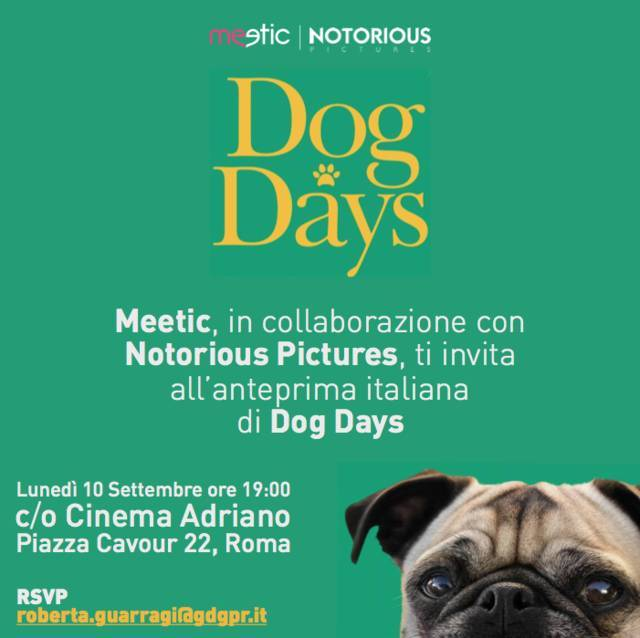 dog-days-dog-date-evento-lancio-invito