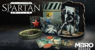 Metro Exodus: Svelata la 'Spartan Collector's Edition'