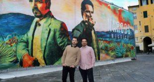 Narcos: Messico i protagonisti Michael Peña e Diego Luna a Lucca Comics