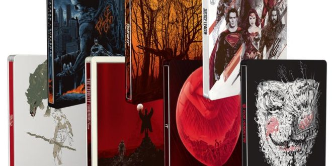 Warner Bros. e Mondo – 7 steelbook con esclusive cover illustrate