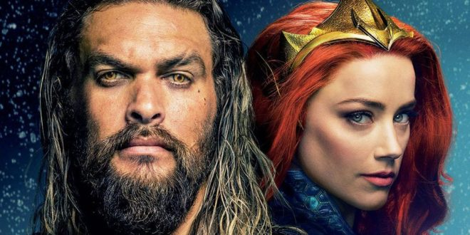 Aquaman al Napoli Comicon per celebrare l'arrivo del film in home video