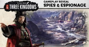 Total War: Three Kingdoms – Il nuovo trailer mostra l'antica arte dello spionaggio